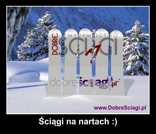 Ściągi na nartach