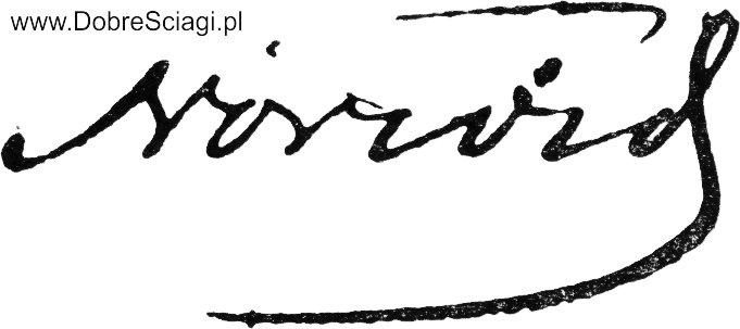 Autograf Norwid DobreSciagi.pl