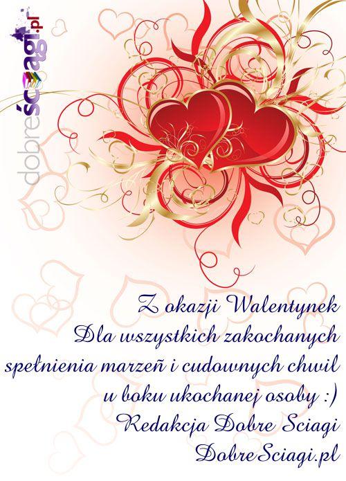 Ściągi Dobresciagi.pl Walentynki życzenia