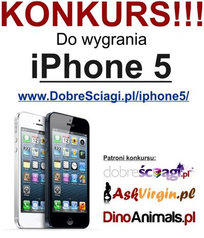 Konkurs Wygraj iPhone'a 5